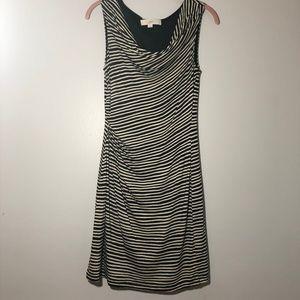 Loft Striped Knit Sheath Work Dress